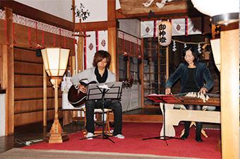 琴とギター演奏
